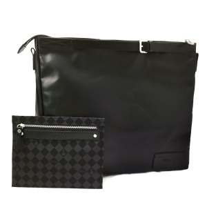 [McVing] New Vintage W Handbag black waterproof bag / shoulder bag / shoulder bag