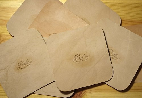 Leather coasters (set of 5)