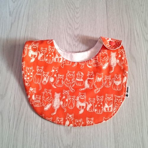 Cat in the world - Cotton Bibs