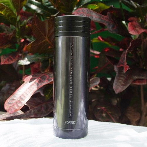 Handy Bottle readily vacuum thermos 300ml- black (Japan Design)