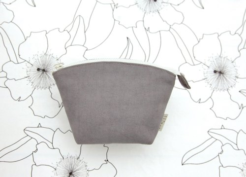 Cosmetic] [shellfish exchange gifts selection - washing canvas gray (small)