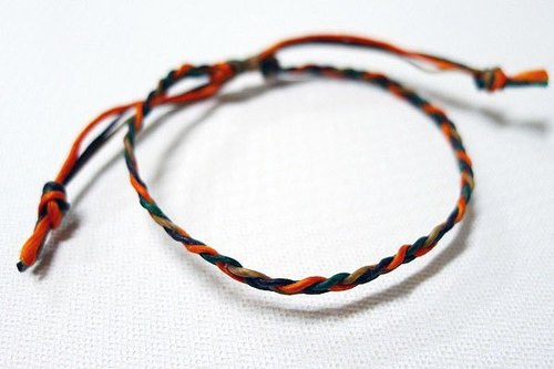 Wax line whims Colorful ~ pray silk rope lucky