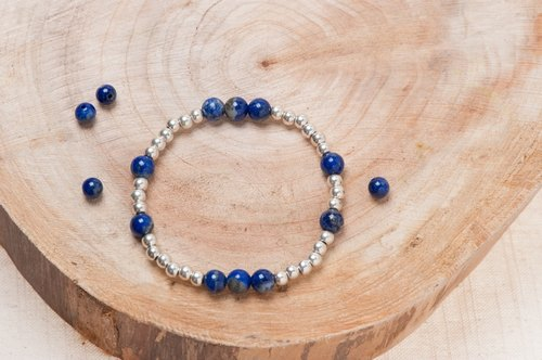 [Woody'sHandmade] lapis single bracelets. Lapis lazuli Single circle