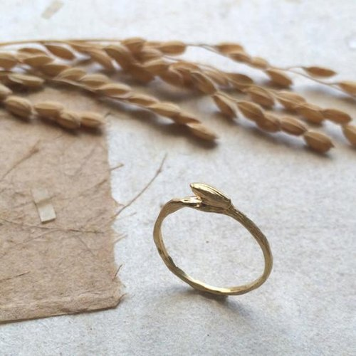 * Grain Series * rice (fir) one grain ring