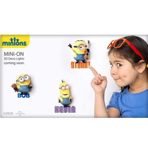 3D Light FX - Minions Mini Series Set - 3D立體迷你燈 小小兵 組合