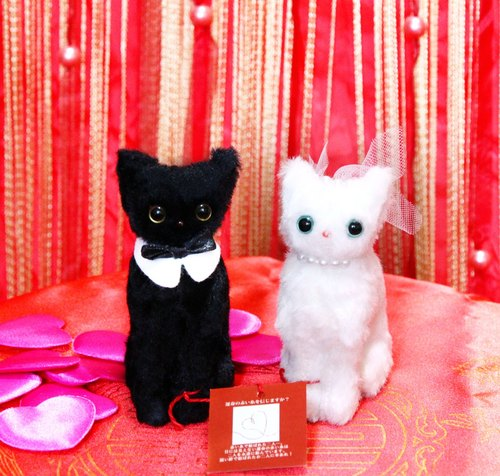 Mr. & Ms. Cat for Marie couple gift