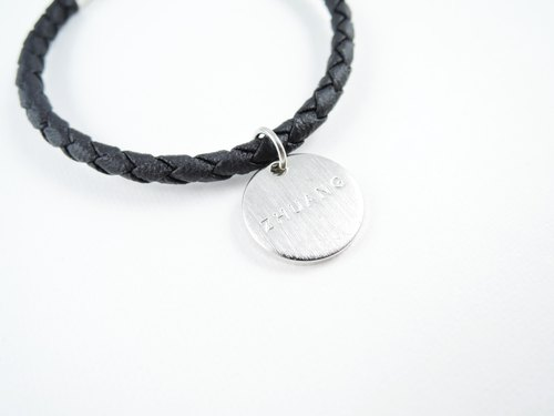 Zhu. Handmade bracelet classic twist weave (single) couple models / sister models / gifts / Christmas / Knitting / personality