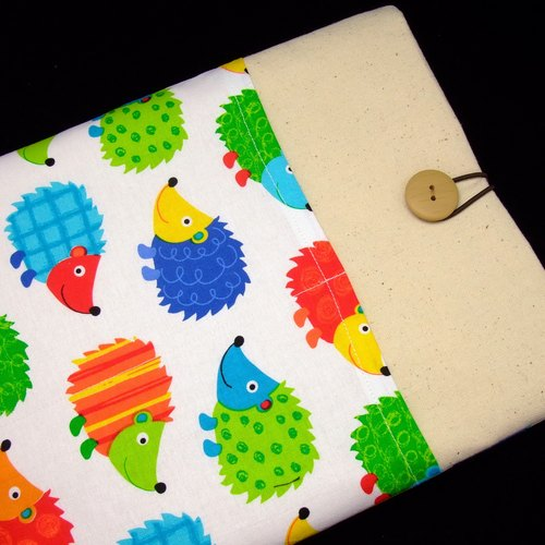 "11"" to 13"" MacBook Pro case, MacBook Air cover, Surface RT Pro, Laptop, Custom tablet sleeve with 2 pockets PADDED (206)"