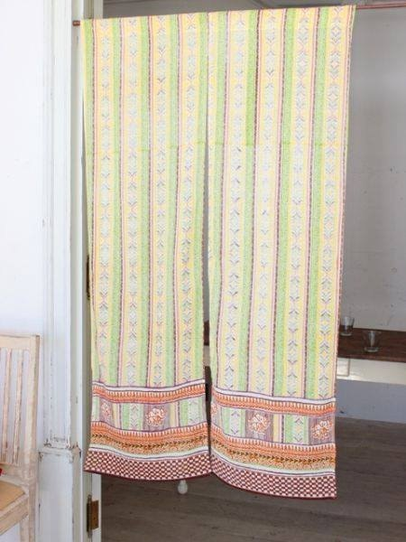 ✾ elephant totem curtain (blue) ✾