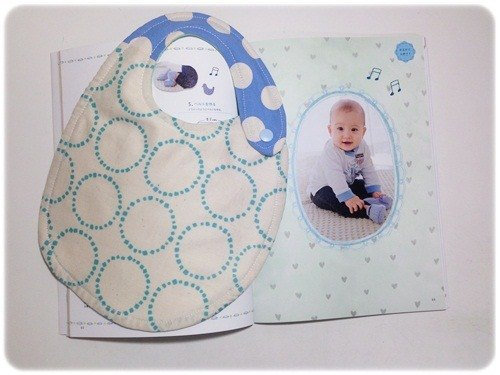Turkey sided blue circle Bibs