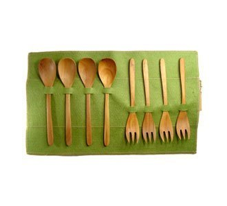 Chabatree Forest wooden cutlery set
