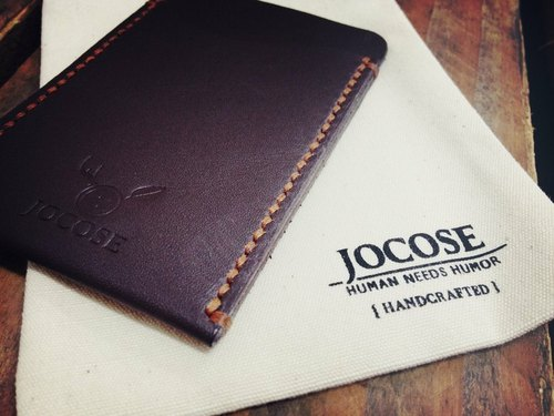 [Free shipping] British JOCOSE documents Card Case