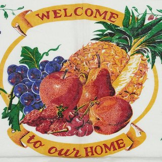 1996 American early years cloth calendar welcome to our home