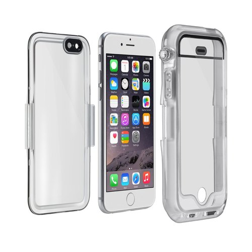 [NOMU] Poseidon iPhone 6 / 6S (4.7 inches) Waterproof Phone Case (spray white)