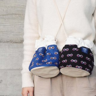::Bangstree:: Shoulder Bucket Bag -glaesses