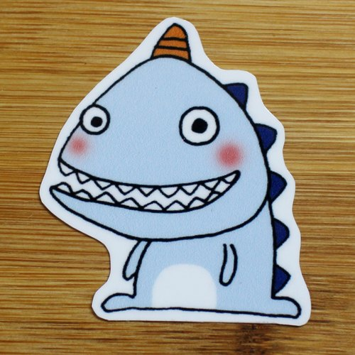Waterproof stickers (small) _ small dinosaur series 02