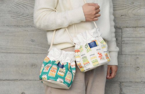 :::Bangstree:: Shoulder Bucket Bag - Vegetable & Fruit jar