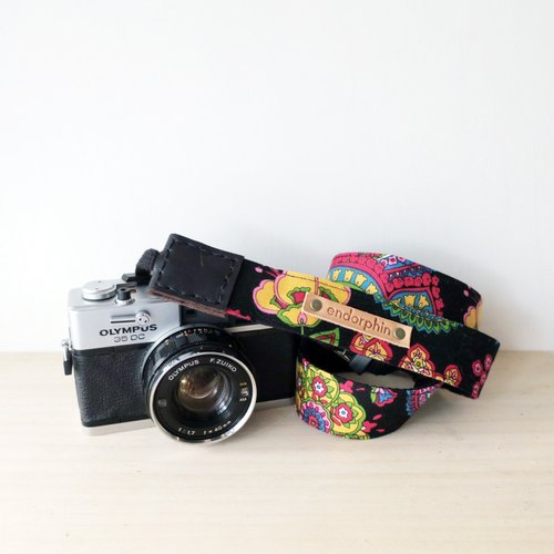 ENDORPHIN handmade camera strap (traveller collection- Mekong River)