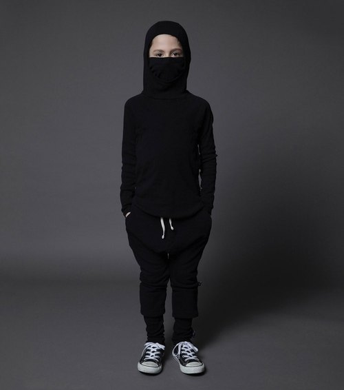 2015 Fall Winter Tide brand NUNUNU Ninja Tops / ninja shirt