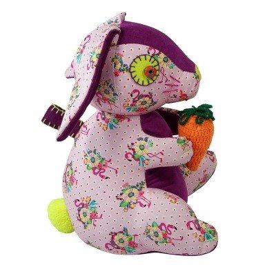 GINGER │ Denmark and Thailand design - animal dolls doorstop - Rabbit