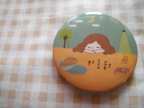 Xiu Xiu Bear / good like /-5.8cm badge