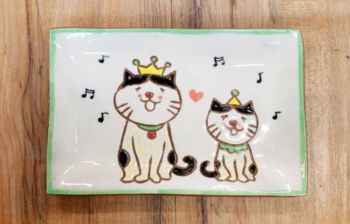 The Little Prince cats love to sing cats ─ ✖ styling plate