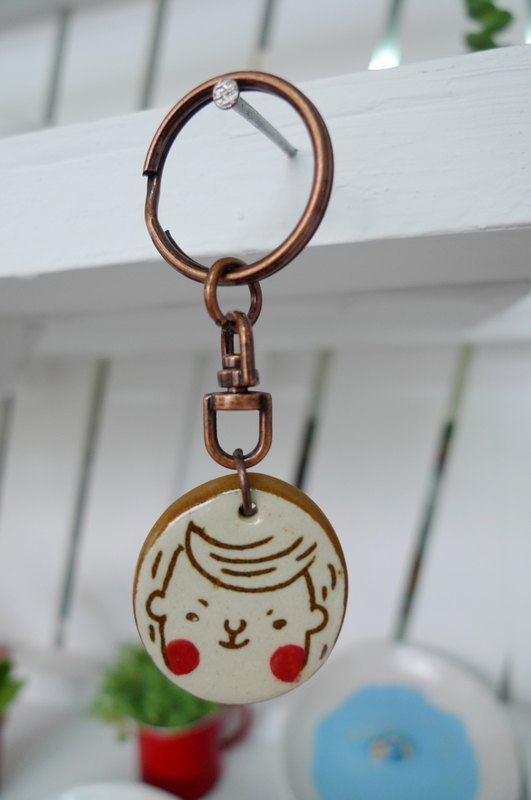 Handsome key ring