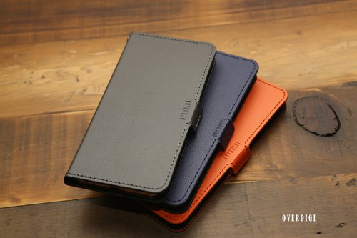 OVERDIGI Cosmo for iPhone6 ​​(S) textured leather flip side
