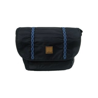 Matchwood Design Matchwood Swift Messenger Bag Side Backpack Crossbody Totem Blue
