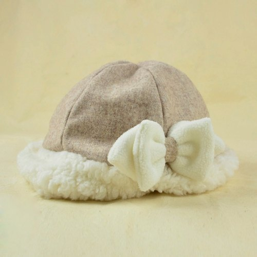 Fall and winter leisure dome cap - bow section