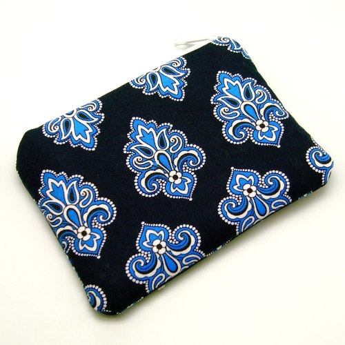 Zipper pouch / coin purse (padded) (ZS-86)