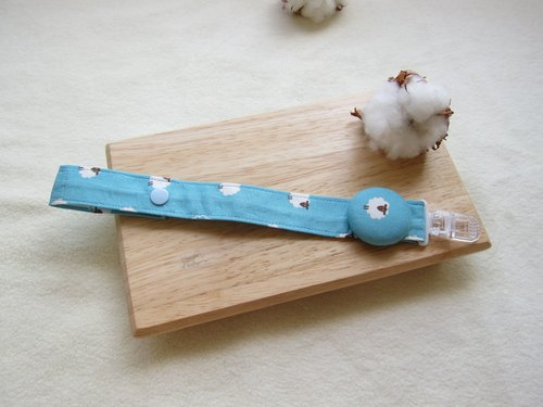 Blue Ocean sheep pacifier chain / toy chain