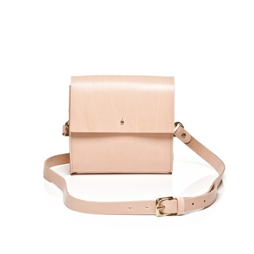 【Grace Gordon】Leather Cross-body Handmade in UK