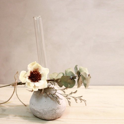White Songhua dried bouquet / flower arrangement flower / New Year Bouquet