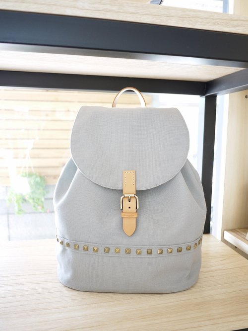 Canvas Backpack (gray)