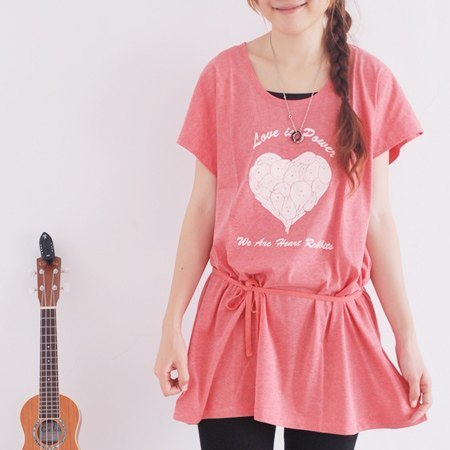 *Mori Shu*love mochi rabbit dress (subscript cannabis red area)