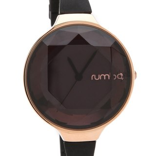 {Rumba Time} in New York fashionable watch brand Orchard Gem - Black Diamond