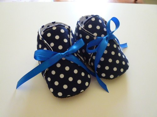 Little blue baby shoes baby shoes strap