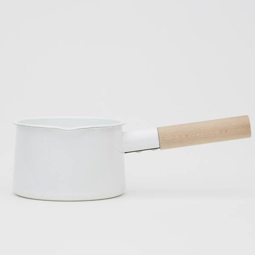 kaico enamel pot milk L