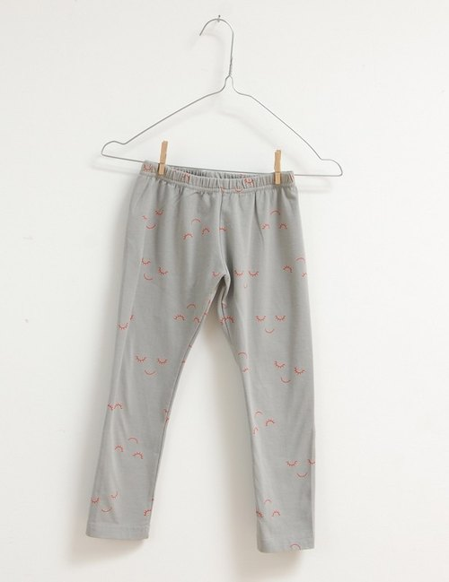 2014 autumn and winter gray slag eye laughing legging picnik