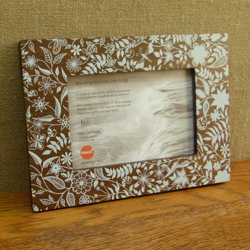 Granton Photo Frame for 4x6 (10 x 15cm) Creative Photo Frame by Johanna Basford - 2P141