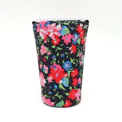 BLR Drink caddy [ Flowers Black ] WD18
