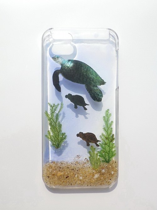 Anny's workshop hand-made Yahua phone protective shell for iphone 5 / 5S, sea turtles
