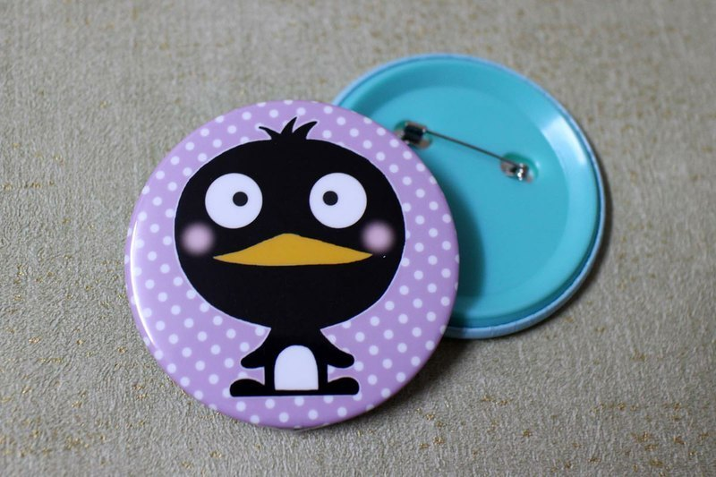 Big badge (penguin)