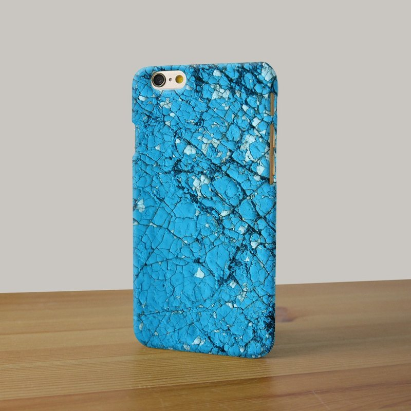 Blue Rock pattern 3D Full Wrap Phone Case, available for  iPhone 7, iPhone 7 Plus, iPhone 6s, iPhone 6s Plus, iPhone 5/5s, iPhone 5c, iPhone 4/4s, Samsung Galaxy S7, S7 Edge, S6 Edge Plus, S6, S6 Edge, S5 S4 S3  Samsung Galaxy Note 5, Note 4, Note 3,  Note