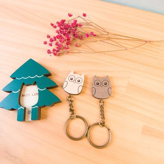 Key House Wise Owl < Customizable Storage Decoration Gift X'mas >
