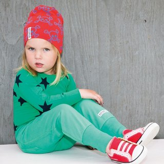 [System] Swedish organic cotton cover Dudu Baby pants green (for 6M-24M)