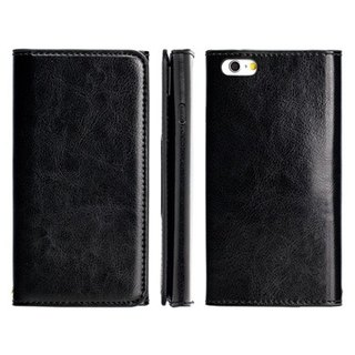 SW iPhone 6/6S dedicated CALM leather holster - black (4716779655230)
