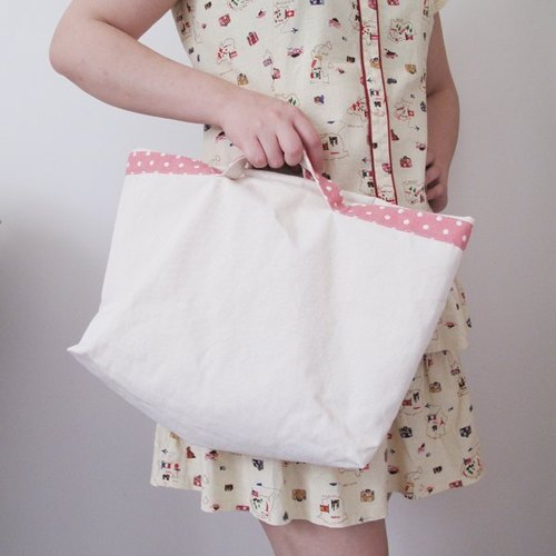 Little wind - hand and shoulder dual Tote