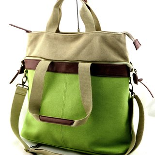 22-day canvas 2 with IPAD package - 3-color optional (green / blue / khaki)